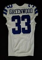#33 Greenwood of Dallas Cowboys NFL Locker Room Lightly Worn Jersey
