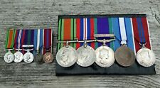 More details for ww2 & later - mounted medal group & miniatures - captain r.j. stipling r.e.m.e.