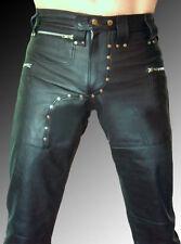 Herrenhosen aus Leder Hosengröße 56 in Plusgröße