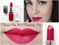 Clinique Pop Lip Colour + Primer #24 RASPBERRY POP - 3.9g/0.13oz New In Box