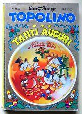 TOPOLINO n.1569 Dicembre 1985