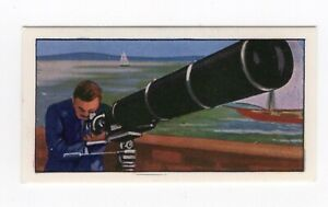 Tea card. Science in the 20thC. #07 Photography. Long Tom Camera