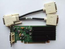 SFF Dual HP 430956-001 430965-001 NVS 285 P383 128mb PCIe DVI Separador Windows