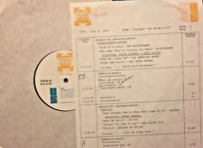 RADIO SHOW: 6/9/87 CHICAGO! BUCKINGHAMS, CHICAGO, BO DIDDLEY, SHADOWS OF KNIGHT
