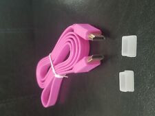 PINK  1.5 meter Flat HDMI Cable 1.4 Version Video/Audio Computer TV 1080p