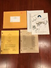 Cheers Series Finale Signed Script + other items! 1993 *one of a kind*