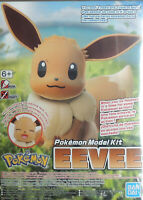 POKEMON EEVEE SNAP TOGETHER PLASTIC FIGURE MODEL KIT BY BAN DAI