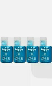 King of shaves oil(sensitive) with aloe vera and tea tree oil,quad pack.