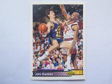 JOHN STOCKTON UTAH JAZZ UPPER DECK 116 NBA BASKETBALL CARD 1992 93 EXCELLENT