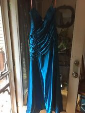 Long Blue Flirt by Maggie Sottero Prom/ Formal Dress, Size 12