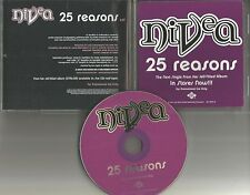 NIVEA 25 Reasons 2003 USA ULTRA RARE PROMO Radio DJ CD single