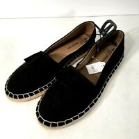 Time and True Memory Foam Slip on Shoes Casual Footwear Size 9 Black Womens