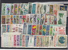 FRANCOBOLLI 1963/65 JUGOSLAVIA LOTTO VALORI NUOVI E USATI (MLH) Z/1923