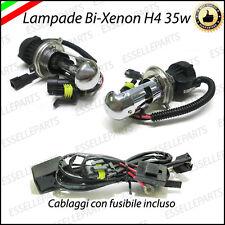 COPPIA LAMPADE RICAMBIO PER KIT XENON BI-XENO H4 6000K 35W 12V LUCE BIANCA