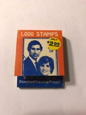 Matchbook Prince Charles & Princess Diana (Di) Stamp Ad Collectible F79