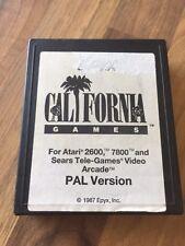 Atari 2600:         CALIFORNIA        PAL