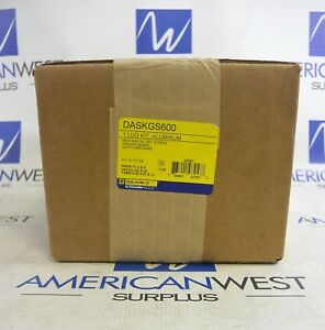 DASKGS600 Square D Aluminum Lug Kit for Transformers NEW