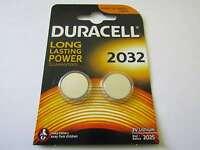 40x CR2032 Blister Lithium Knopfzelle Duracell AR2773