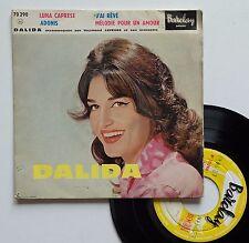 """Vinyle 45T Dalida  """"Luna caprese"""""""