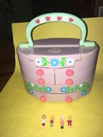 Vintage 1991 Polly Pocket Pull Out Playhouse Bluebird -Complete