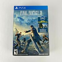 Final Fantasy XV PlayStation 4 2016 NEW COMPLETE