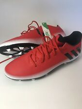 Adidas Messi 16.3 FG AG Soccer Cleats BA9020 Red Black Outdoor Cleats NEW