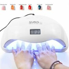 72W SUN5 Pro UV Lamp LED Nail Lamp Nail Dryer For All Gels Polish Sun Light Infr