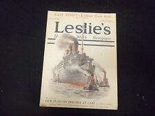 1920 AUGUST 28 LESLIE'S WEEKLY MAGAZINE - COCA COLA AD BACK COVER - ST 2298