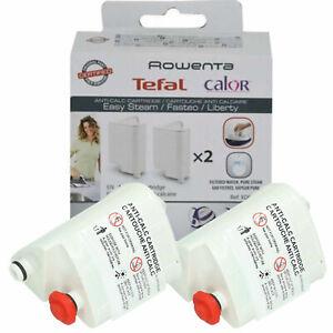 2 X TEFAL FASTEO Anti Calc Cartridges For SV6020