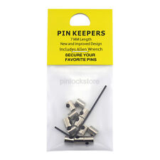 New Design 7mm Length Pin Keepers/Locking Pin Backs for Enamel Lapel Hat Pins