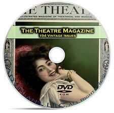 Theatre Magazine, 194 Issues, Classic Plays Opera Arts Broadway Drama DVD C23