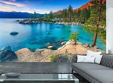 Lake Summer Wall Mural Photo Wallpaper GIANT WALL DECOR Paper Poster Free Paste