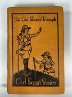 Vintage 1921 THE GIRL SCOUTS' TRIUMPH Hardcover Book Katherine Keene Galt