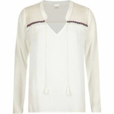 River Island Hip Length Viscose Tops & Shirts for Women