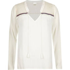 River Island Patternless Viscose Tops & Shirts for Women