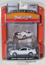 GREENLIGHT MUSCLE CAR GARAGE STOCK & CUSTOM 2007 MUSTANG SHELBY GT500