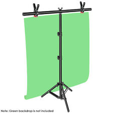 "Neewer T-shape 32-80"" Adjustable Background Backdrop Support Stand Tripod Kit"