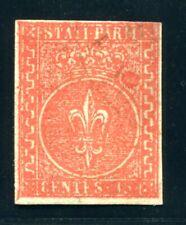 ITALIEN ALT PARMA 1853 7 ungebraucht ohne Gummi signiert BRUN + ABART (S4898