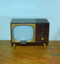 *VINTAGE* Television Set,  Salt And Pepper Shakers, Retro, Atomic Era. Rare.