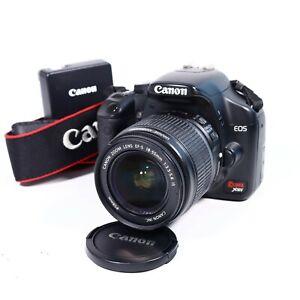 Canon EOS Rebel XSI 12.2MP Digital SLR DSLR Camera W/ 18-55MM Lens