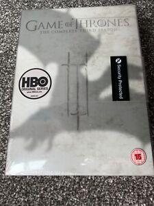 GAME OF THRONES COMPLETE SERIES 3 DVD 3rd Third Season Three Original UK Release