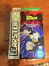 LEAP FROG LEAPSTER BATMAN Learnin game system : Multiply, Divide and Conquer NEW