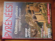 $a Revue Pyrenees Magazine N°46 Chateaux cathares  Ours  Sierra de Guara  Garcia