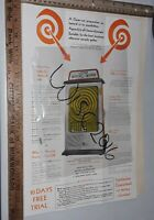 Pace Whirlwind Trade Stimulator Machine Coin-Op Promo Flyer original 2 sided