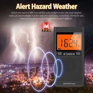 Hurricane Sale:NOAA Emergency Alert Weather Radio Auto-Search AM/FM/WB Receiver