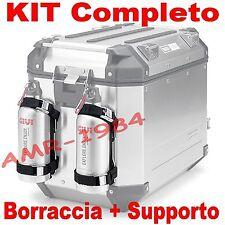 KIT SUPPORTS + GOURDE GIVI E162 + STF500S ACIER INOXYDABLE x OUTBACK e DOLOMITES