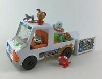 The Ugglys Pet Shop 6pc Lot Van Gross Sounds Toy Figures Moose C2