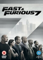 Fast & Furious 7 DVD (2015) Vin Diesel, Wan (DIR) cert 12 ***NEW*** Great Value