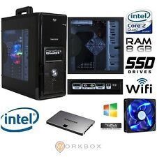 BLU EASY SSD240 PC DESKTOP QUADCORE WIFI RAM 8GB HD STATO SOLIDO SSD 240GB HDMI