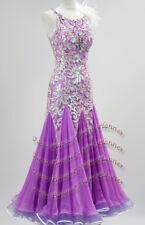 6f15c65b15 B7635 Ballroom swing Waltz Tango Rhythm us 6 Dance Dress feather